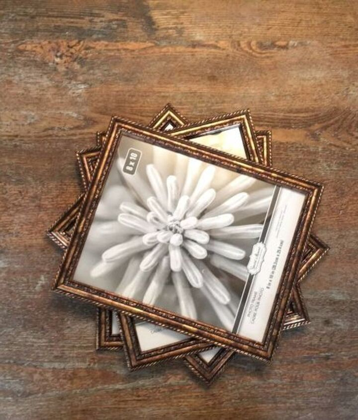 s 3 brilliant ideas how to use photo frames, Step 1 Remove all inserts from the frames