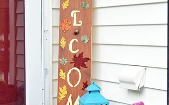 diy porch welcome sign