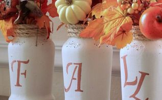 how to give a jar a sophisticated look for fall