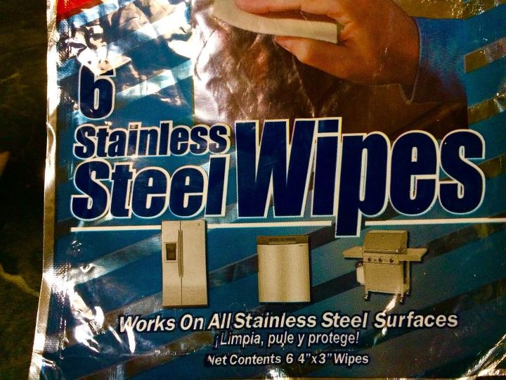 what do these four things have to do with stainless steel appliances