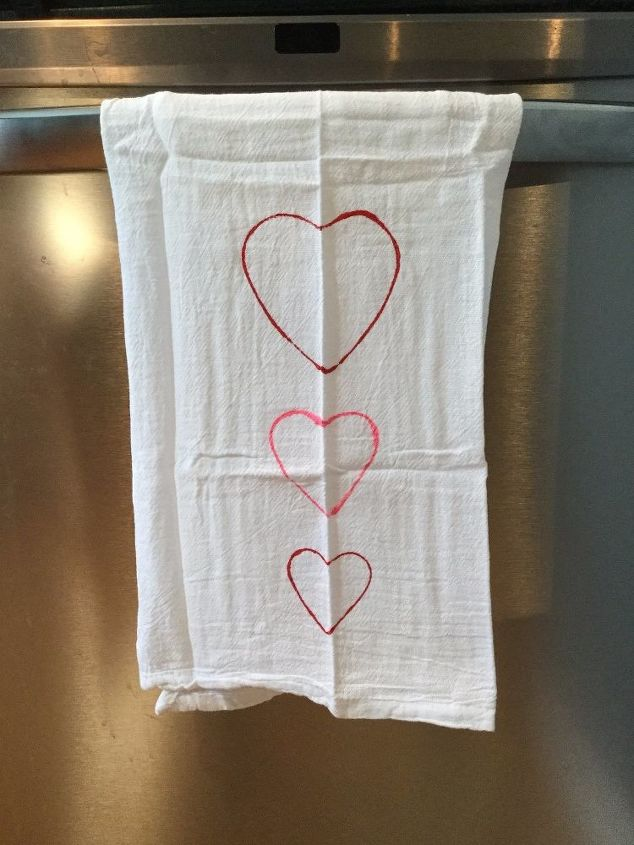 dish towel gift 4 ways