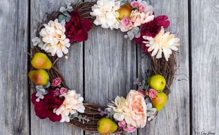 diy fall harvest wreath