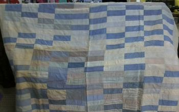 Quilt From Shirt Material