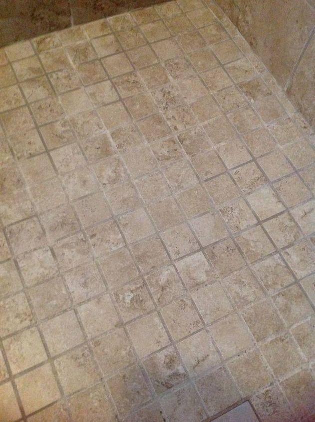 q porcelain tile walk in shower