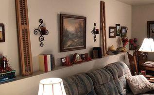 vintage shutter decor