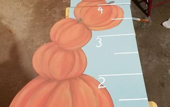 pumpkin stack growth chart, Add marks for measuring