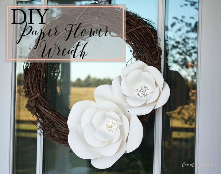 DIY Paper Flower Wreath | Hometalk
