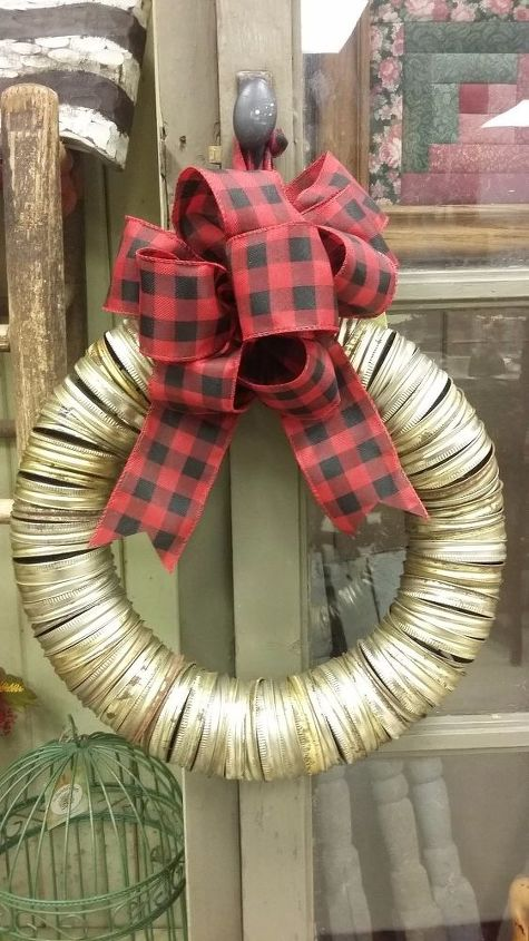 canning rings to rustic charm