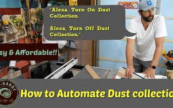 How to Automate Dust Collection System With Alexa Voice Control