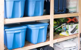 get your shed or garage organized