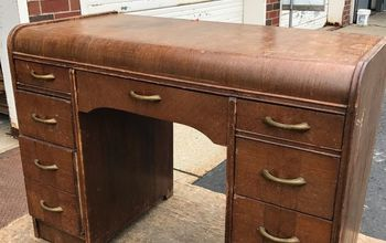 Flipping a Desk From Worn to Wonderful