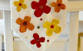 make the perfect no sew fall table runner