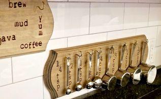 diy farmhouse mug or measuring spoon holder