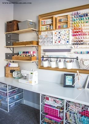 She Shed Craft Room Crafting