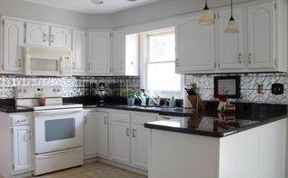 diy tin kitchen blacksplash