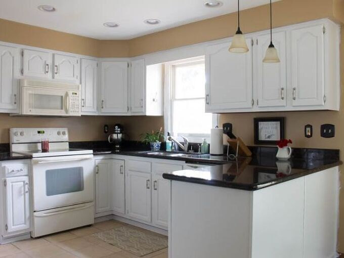 how to paint oak cabinets white