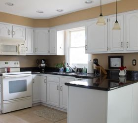 How To Paint Oak Cabinets White ...
