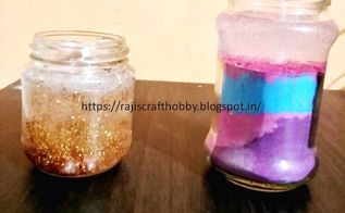 learn how to make decorative gel candles