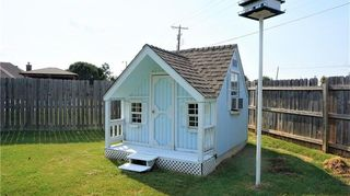 , THIS PLAYHOUSE WAS HERE WHEN WE BOUGHT THE HOUSE