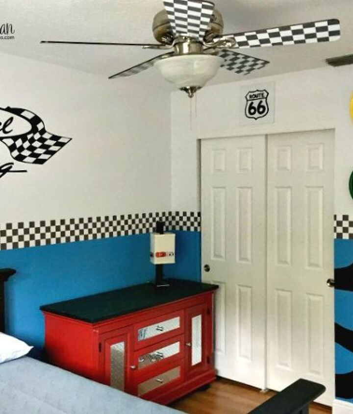 how to dress up a ceiling fan for a kid s room