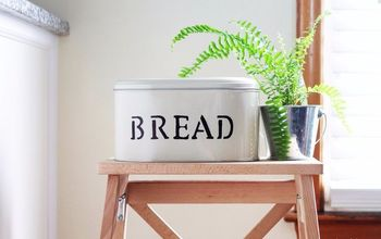 DIY Farmhouse Bread Tin Box