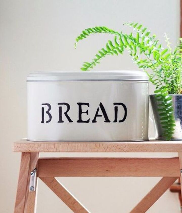 diy farmhouse bread tin box