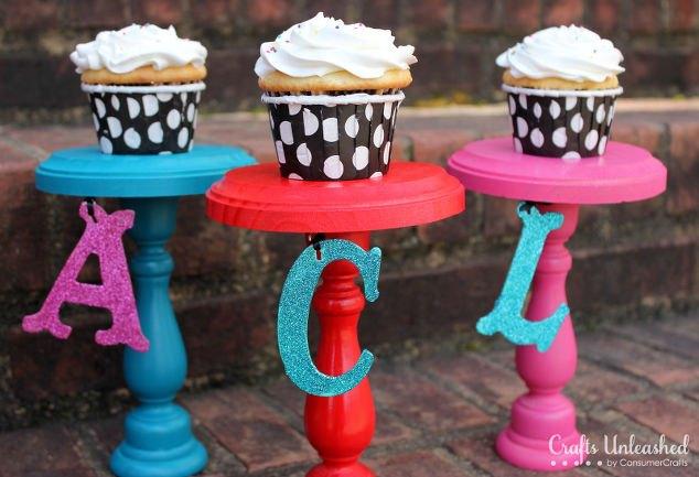 diy cupcake stands