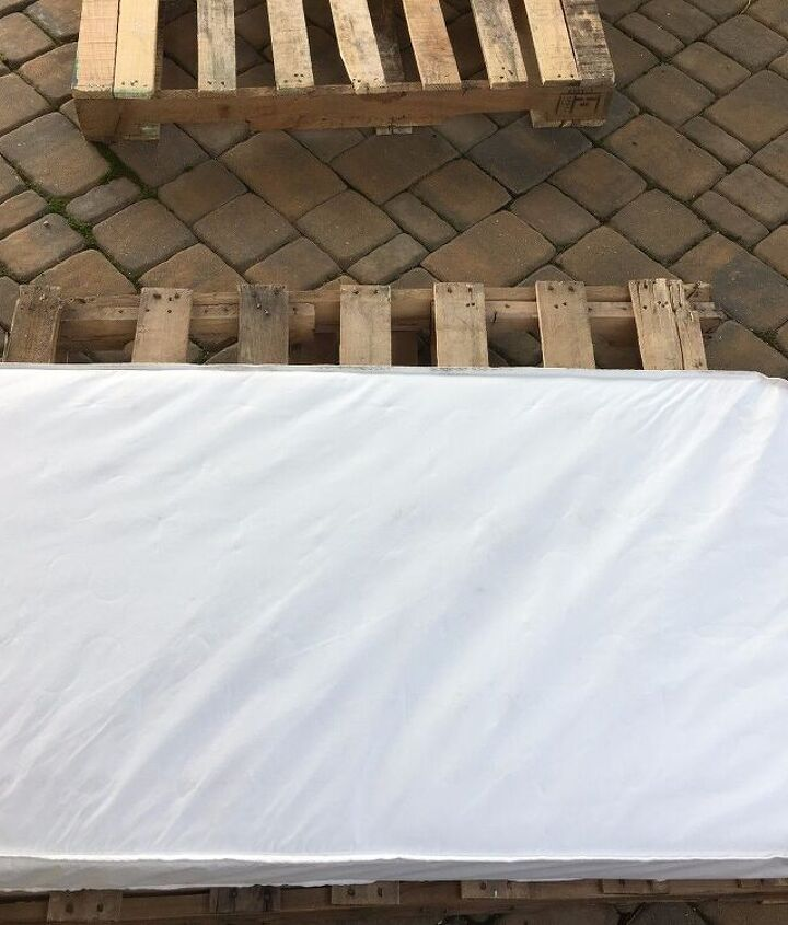 s 3 fantastic step by step ideas what to do with pallets, Step 1 Measure the size of the mattress
