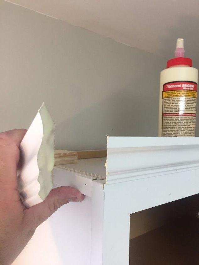 kitchen cabinet crown molding make them fancy