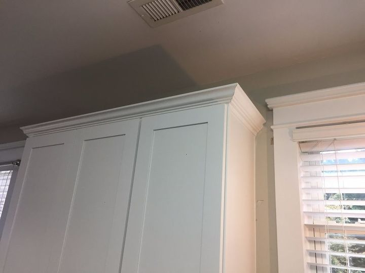 Top Kitchen Cabinet Crown Molding - Make Them Fancy! | Hometalk IW21