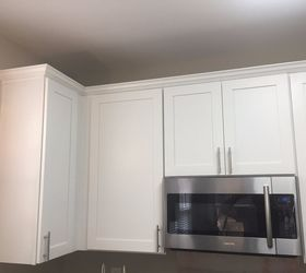 Kitchen Cabinet Crown Molding - Make Them Fancy! | Hometalk