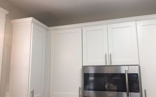 kitchen cabinet crown molding make them fancy