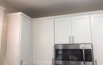 Kitchen Cabinet Crown Molding - Make Them Fancy!