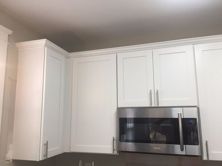 Crown Moulding For Kitchen Cabinets Image And Shower