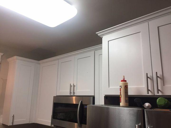 Kitchen Cabinet Crown Molding Make Them Fancy Hometalk