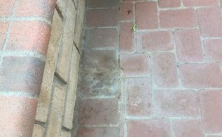 q how do i remove limestone stain from my outdoor pavets