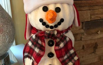 Don't Put Those Pumpkins Away Just yet; You Have a Snowman to Make!