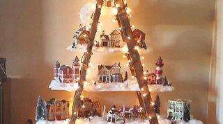 Christmas Setups.Please Show Plans For Christmas Village Houses Etc Setups