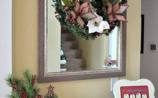 how to quickly make a christmas wreath