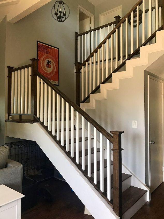 Unique Stair Railing Remodel Hometalk Ds74