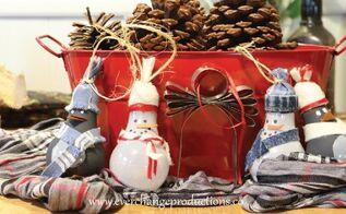 upcycled lightbulb christmas ornaments