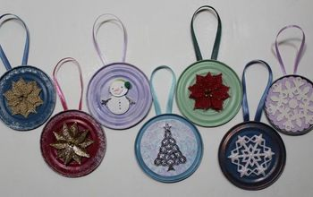 tin can lid ornaments