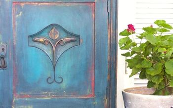 How to Layer Color With a Putty Knife Like The Turquoise Iris