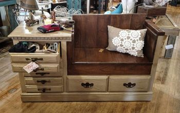 Too Many Dressers, but Needing a Bench?