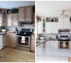 kitchen cabinets makeover -Refreshingly Bright