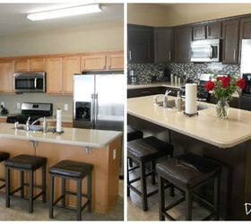 kitchen cabinets makeover - Complementing Tones