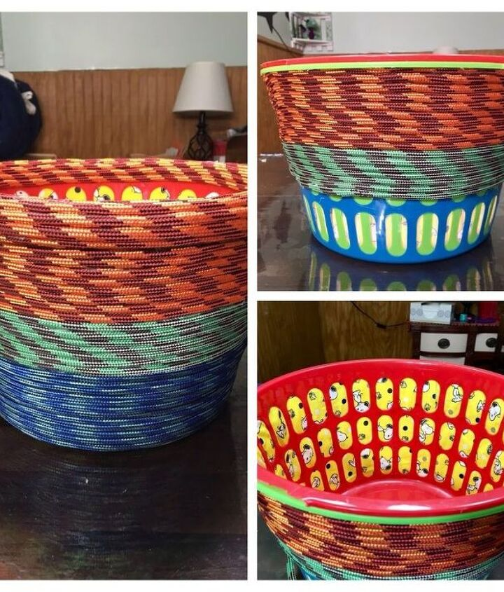 sweet twisted easter basket