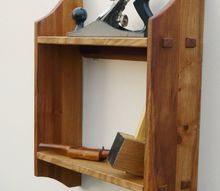 small shelf unit from an old sideboard top