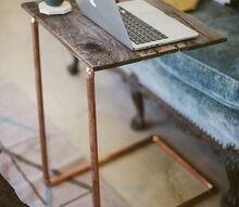 easy diy copper laptop table