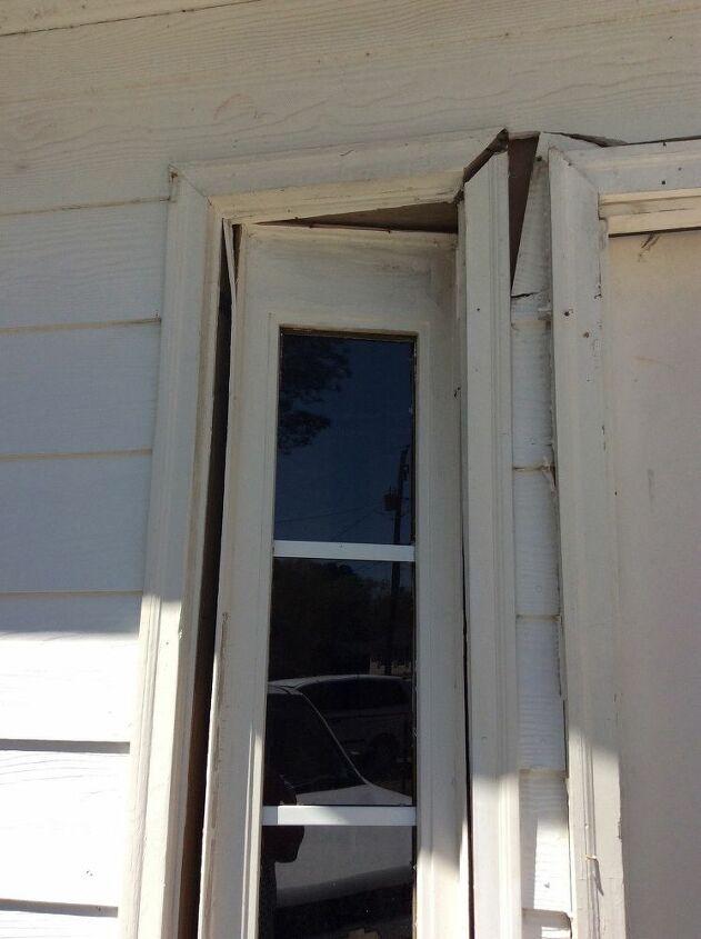 q how to repair door
